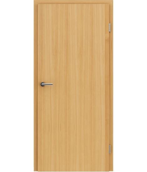 Furnierte Innentür mit längsverlaufender Struktur GREENline – Lärche gebürstet naturlackiert