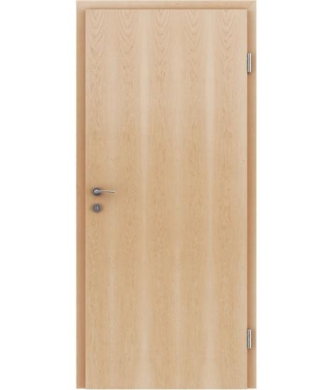 Furnierte Innentür mit längsverlaufender Struktur GREENline – Ahorn