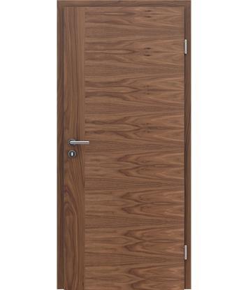 furnirana notranja vrata s kombinirano pokončno in prečno strukturo VIVACEline - F3 oreh