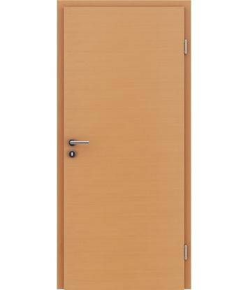 furnirana notranja vrata s kombinirano pokončno in prečno strukturo VIVACEline - F4 bukev