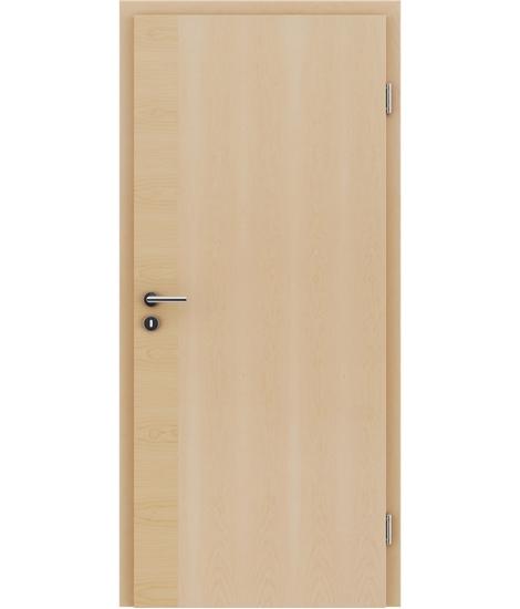 Furnierte Innentür mit einer Kombination aus längs- und/oder querverlaufenden Strukturen VIVACEline – F12 Ahorn