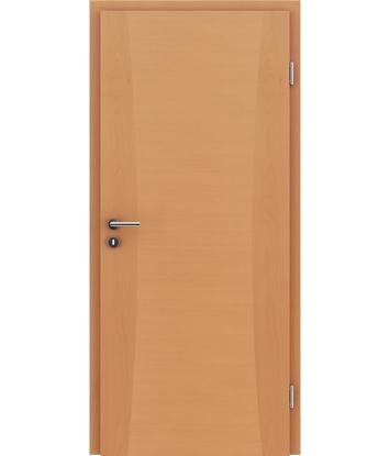Furnierte Innentür mit Intarsieneinlagen HIGHline – I13 Buche