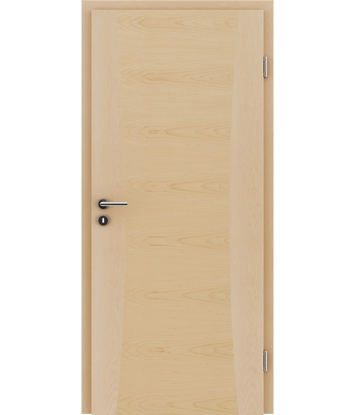Bild von Furnierte Innentür mit Intarsieneinlagen HIGHline – I13 Ahorn