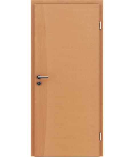 Furnierte Innentür mit Intarsieneinlagen HIGHline – I14 Buche