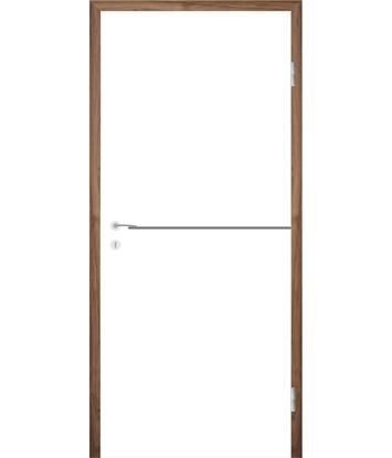 Bild von Weißlackierte Innentür mit Rillenfräsungen COLORline – MODENA R37L